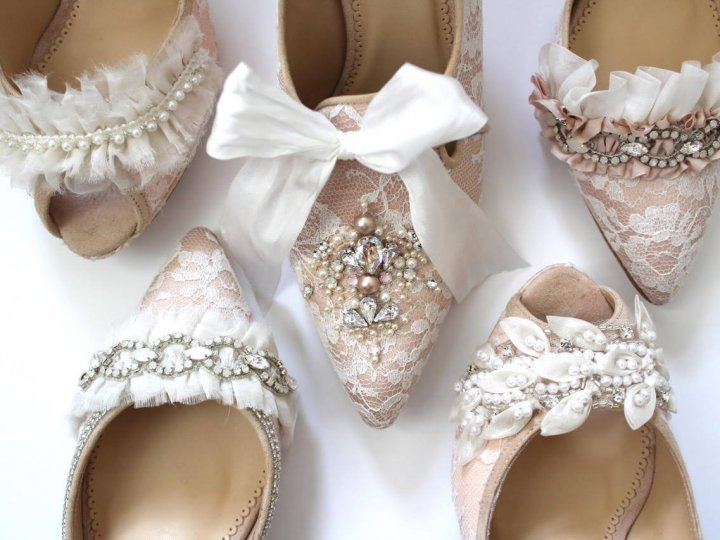 You want ivory wedding shoes? We're sooooo on it!